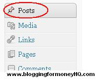 blogging for money - posts